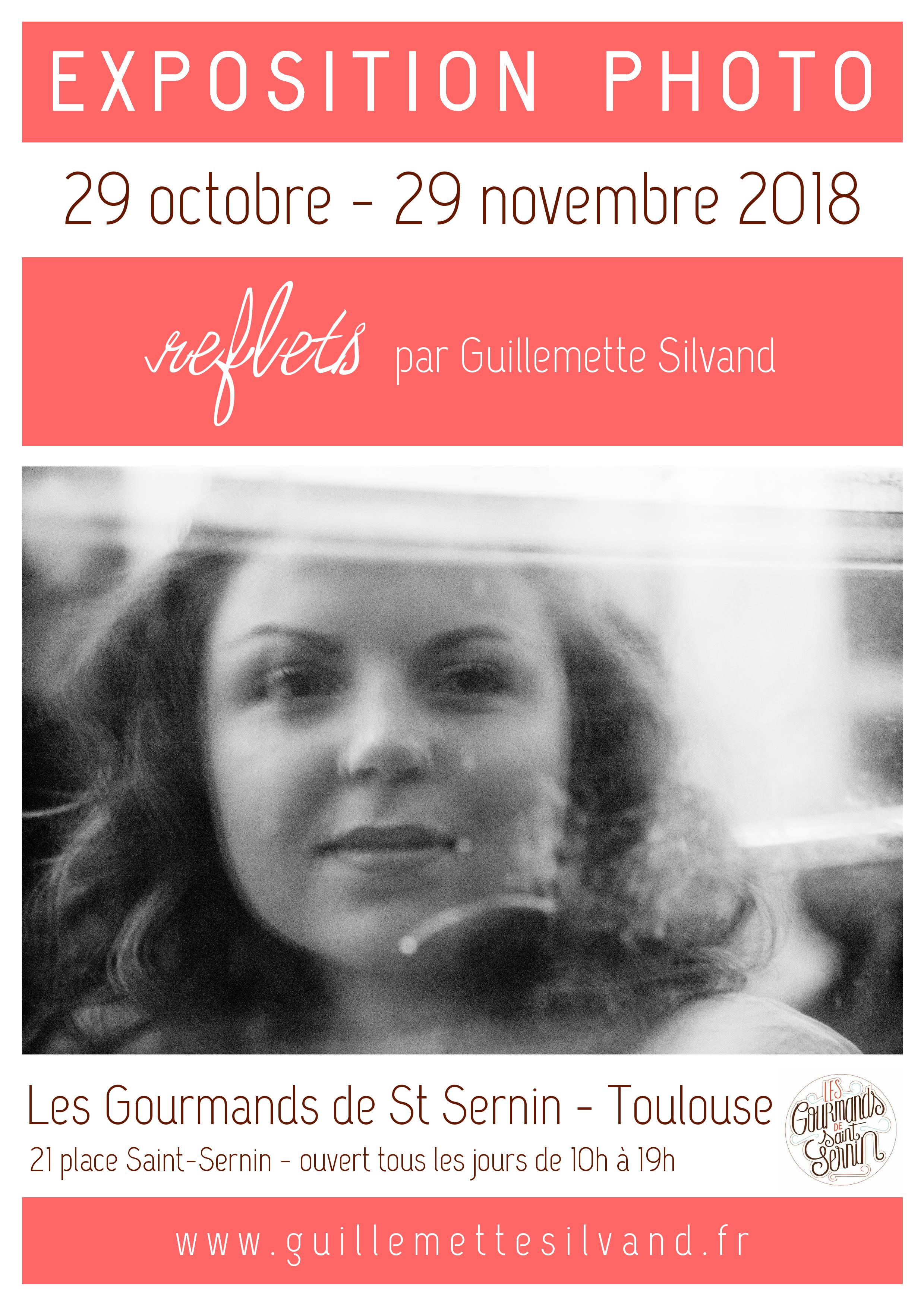 Affiche expo photo G.Silvand